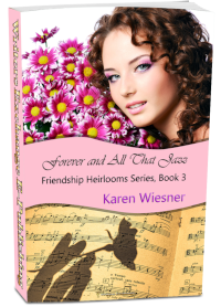 Friendship Heirlooms Series, Book 3: Forever and All That Jazz 3d cover
