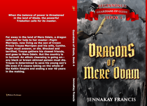 The Dragons of Mere Odain Print cover