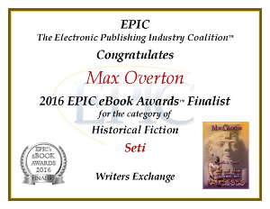 Seti EPPIE Historical Finalist 2016