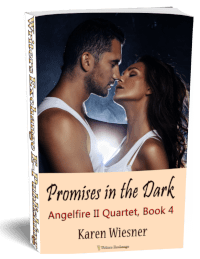 Angelfire II Quartet, Book 4: Promises in the Dark 3d cover