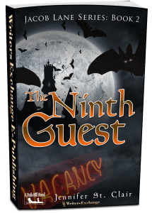 A Beth-Hill Novel: Jacob Lane Series Book 2: The Ninth Guest 3d cover
