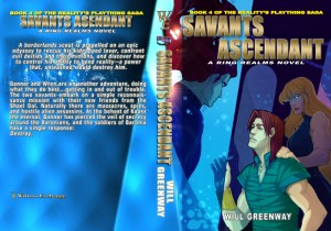 Savants Ascendant Print Cover