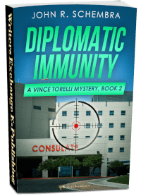 A Vince Torelli Mystery, Book 2: Diplomatic Immunity 3d cover