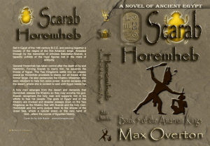 The Amarnan Kings, Book 5: Scarab-Horemheb Print cover