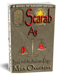 The Amarnan Kings, Book 4: Scarab-Ay 3d cover