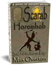 The Amarnan Kings, Book 5: Scarab-Horemheb 3d cover