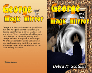 George and his Magic Mirror Print cover
