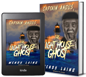Captain Angus, the Lighthouse Ghost 2 covers