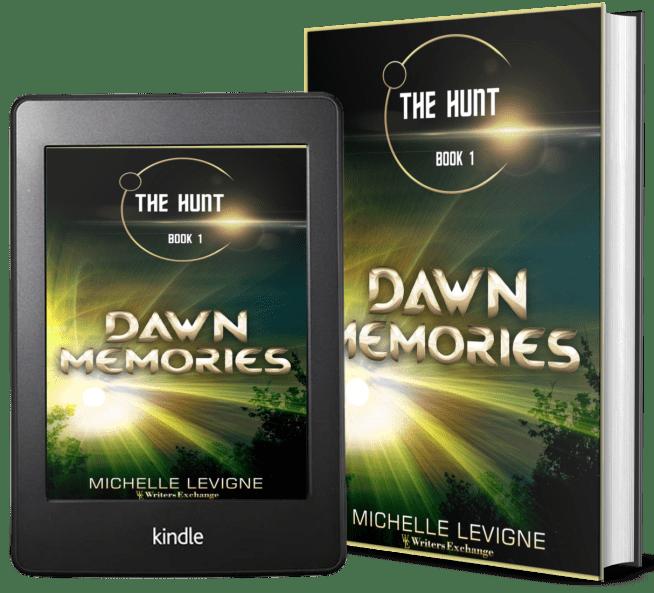 The Hunt Series, Book 1: Dawn Memories 2 covers