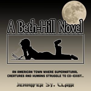 A Beth-Hill Novel, new series logo