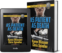 Falcon's Bend Series, Book 5: As Patient as Death covers