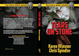 Falcon's Bend Series, Book 2: Tears on Stone Print cover