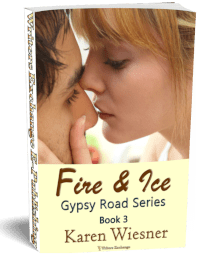 Gypsy Road Series, Book 3: Fire & Ice 3d cover