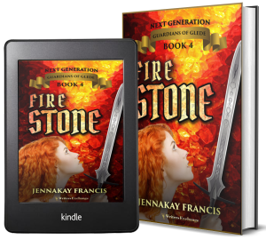 Guardians of Glede: Next Generation Book 4: Fire Stone 2 covers
