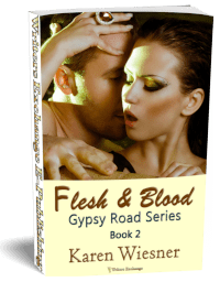 Gypsy Road Series, Book 2: Flesh & Blood 3d cover