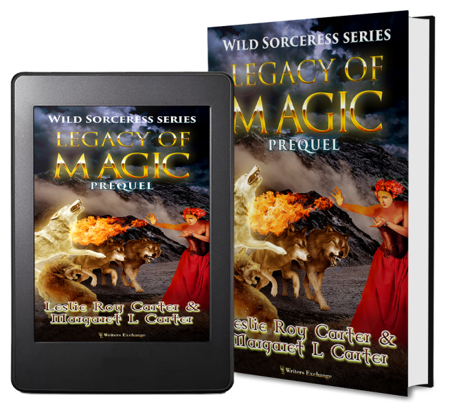 Wild Sorceress Series, Prequel: Legacy of Magic 2 covers
