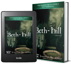 A Beth-Hill Novel: The Shadows Trilogy, Book 2: Lost In Shadows 2 covers