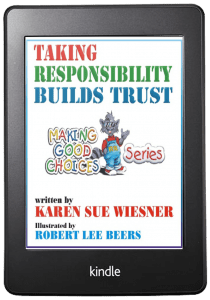 Taking Responsibility Builds Trust Kindle cover