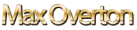 Max Overton Gold Text