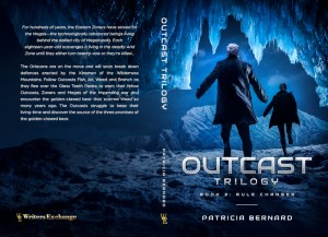 Outcast Book 3, Rule Changer Print cover