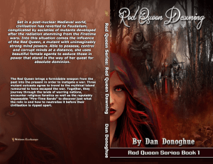 Red Queen Series Book 1: Red Queen Dawning Print cover