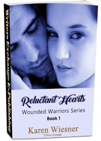 Wounded Warriors Series, Book 1: Reluctant Hearts 3d cover