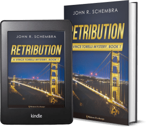 A Vince Torelli Mystery, Book 1: Retribution 2 covers