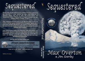 Sequestered Print cover
