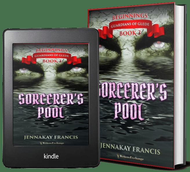 Guardians of Glede: Beginnings Book 3: Sorcerer's Pool 2 covers