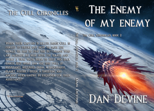 The Cull Chronicles Book 2: The Enemy of My Enemy print cover flipped