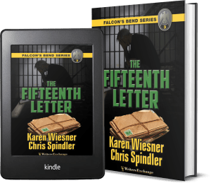 Falcon's Bend Series, Book 3: The Fifteenth Letter covers