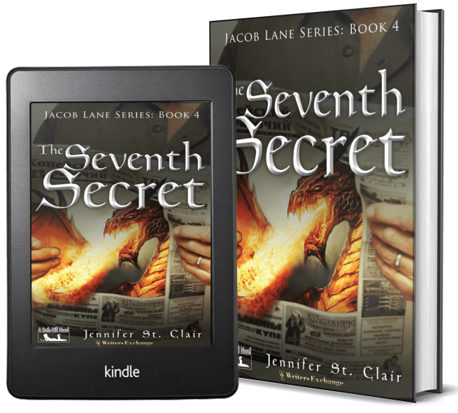 A Beth-Hill Novel: Jacob Lane Series Book 4: The Seventh Secret 2 covers