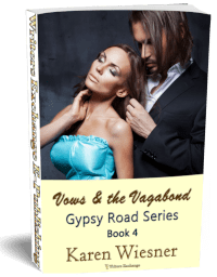 Gypsy Road Series, Book 4: Vows & the Vagabond 3d cover