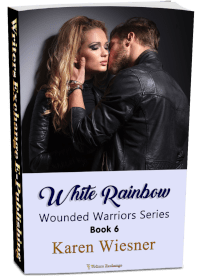 Wounded Warriors Series, Book 6: White Rainbow 3d cover
