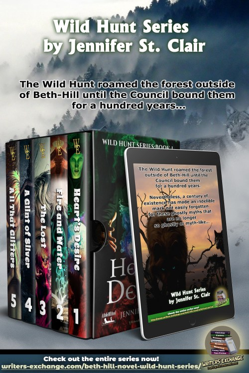 Wild Hunt Series Boxed set with blurb