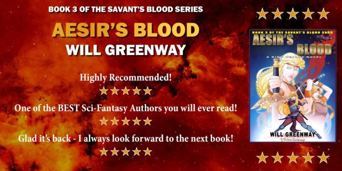 A Ring Realms Novel: Savant's Blood Saga, Book 3: Aesir's Blood Reviews