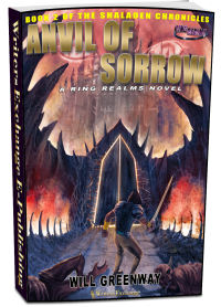 A Ring Realms Novel: Shaladen Chronicles Book 2: Anvil of Sorrow 3d cover