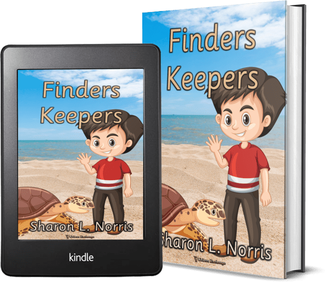 Finders Keepers cartoony 2 covers