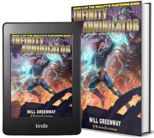 A Ring Realms Novel: Reality's Plaything Saga Book 5: The Infinity Annihilator 2 covers