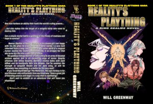 A Ring Realms Novel: Reality's Plaything Saga Book 1: Reality's Plaything Print cover