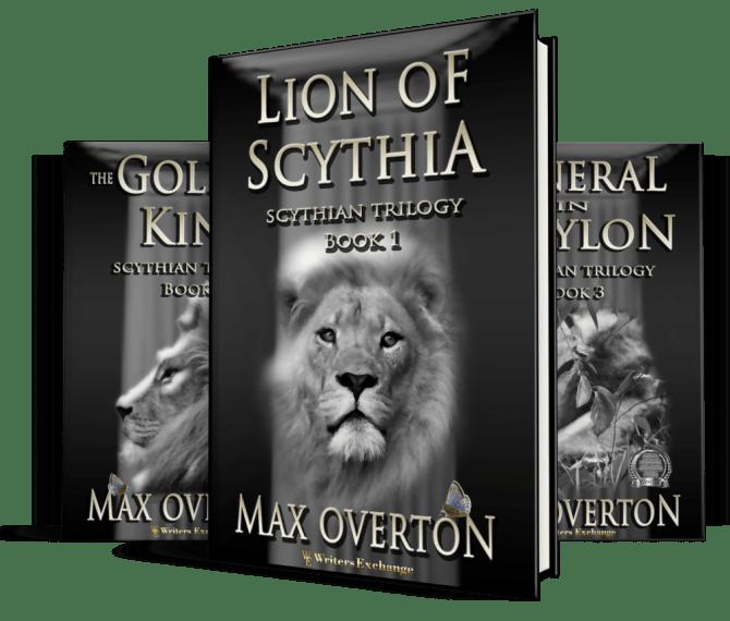 Scythia Series cover spread
