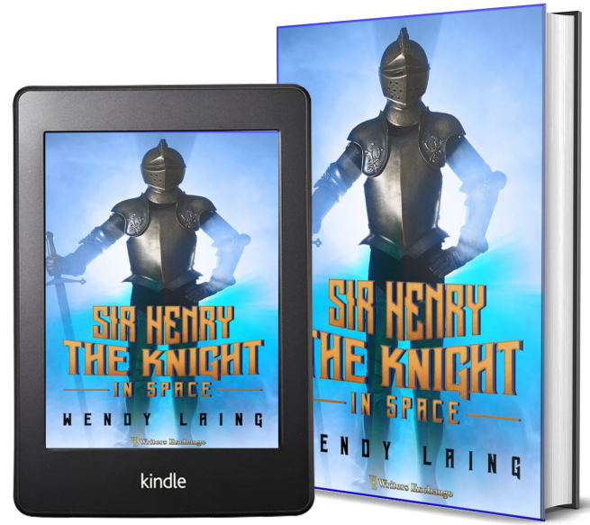 Sir Henry, the Knight in Space 2 covers