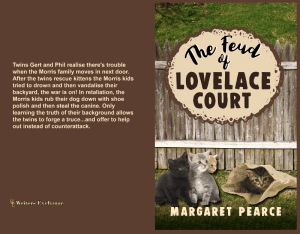 The Feud of Lovelace Court Print cover