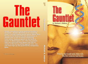 The Gauntlet Print cover