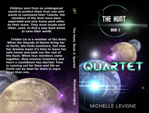 The Hunt Series, Book 2: Quartet Print cover