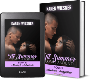 Adventures in Amethyst Series, Book 5: Til Summer Comes Around 2 covers