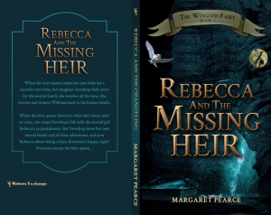 Rebecca and the Missing Heir Print cover print cover
