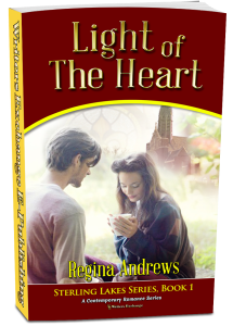 Sterling Lakes Series, Book 1: Light of the Heart 3d cover