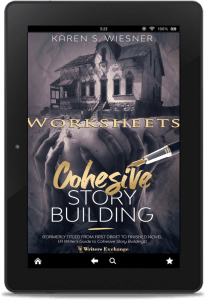 Cohesive Story Building Worksheets Kindle cover