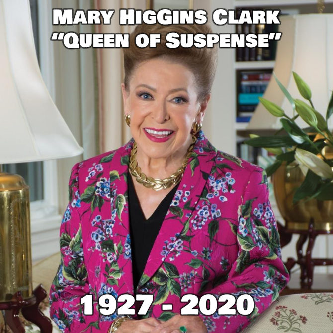 Mary Higgins Clark RIP
